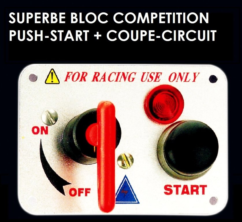 bloc push start coupe circuit competition le club mecanique. Black Bedroom Furniture Sets. Home Design Ideas