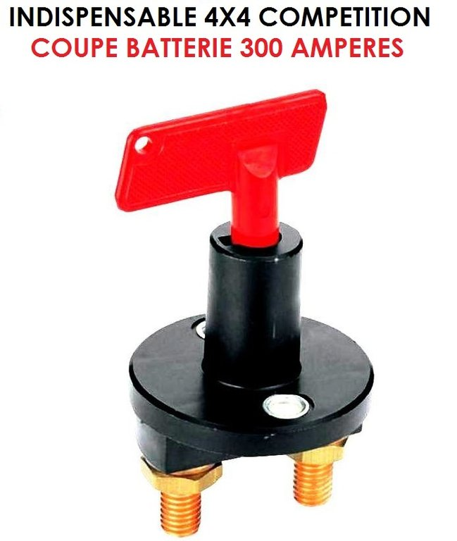 indispensable coupe batterie 12v 300 amp le club mecanique. Black Bedroom Furniture Sets. Home Design Ideas