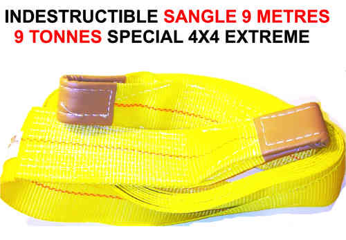 Indestructible Sangle 9 tonnes 9 Metres