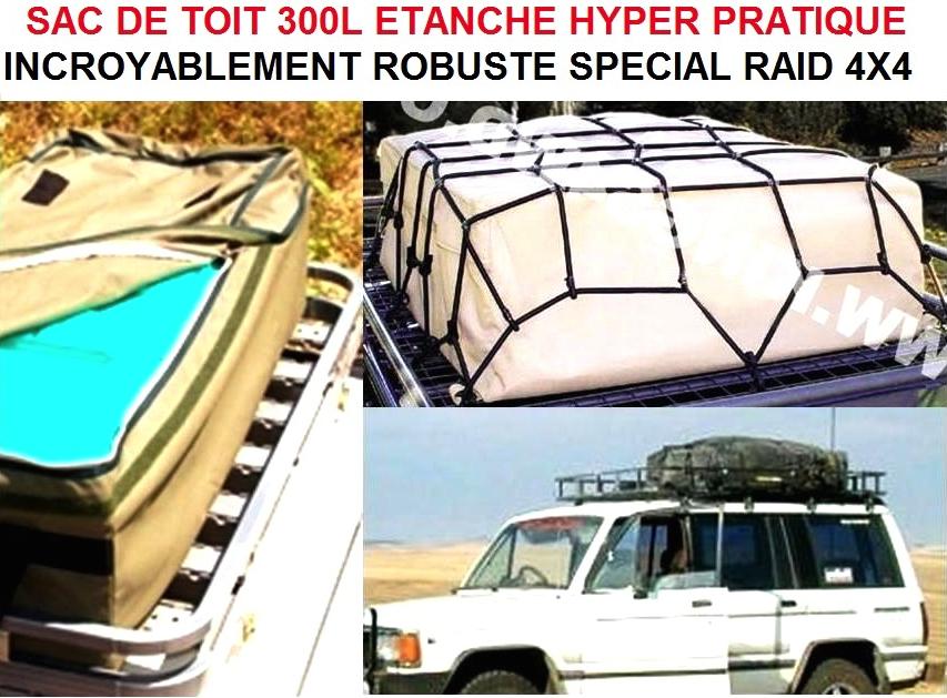 g nial sac de toit 300l sp cial 4x4 camping car le club mecanique. Black Bedroom Furniture Sets. Home Design Ideas