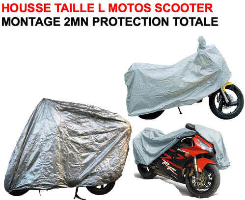 Housse Speciale Moto Scooter Taille L
