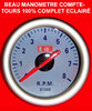 Manometre Compte-Tours 4-6-8 cylindres