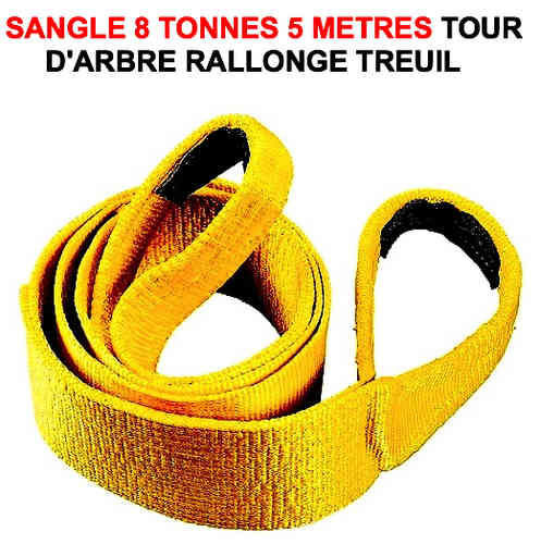 Sangle 8 tonnes 5 Metres Tour d'Arbre