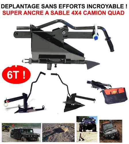 Indispensable Raid! Rare Ancre a Sable 4X4 6T